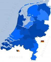 Waterski Nederland Wakeboard Nederland kaart