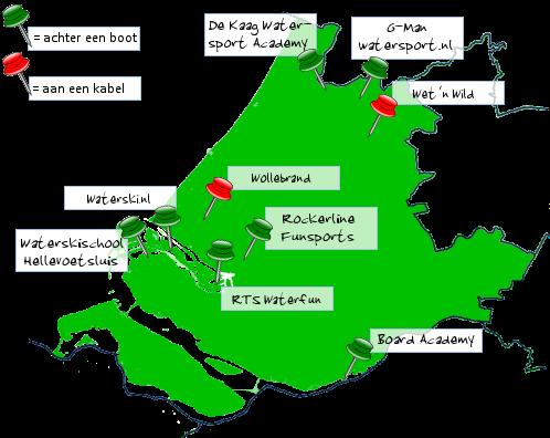 Zuid-Holland - waterski en wakeboard overzicht op Waterski ...