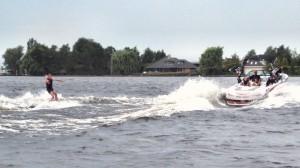 Waterski en Wakeboard Vereniging De Ronde Venen in Vinkeveen, Utrecht.