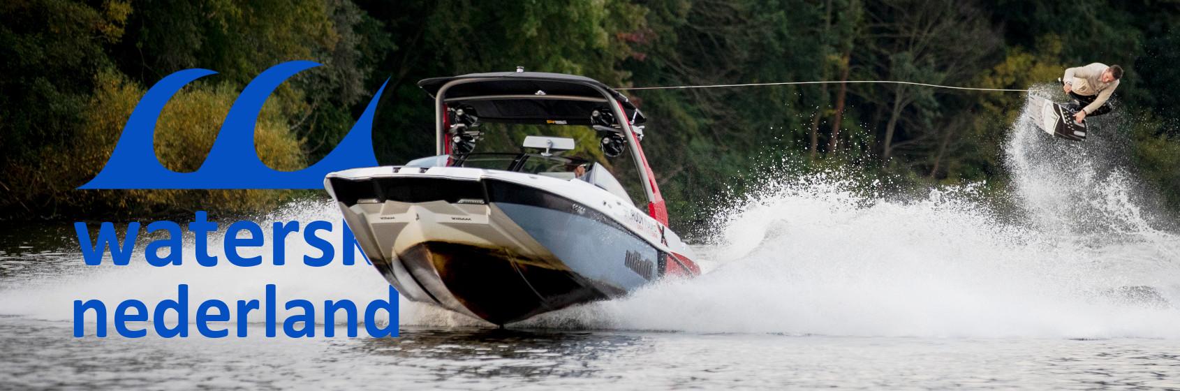 Boot wakeboard met Ricky Lukassen Waterski Nederland