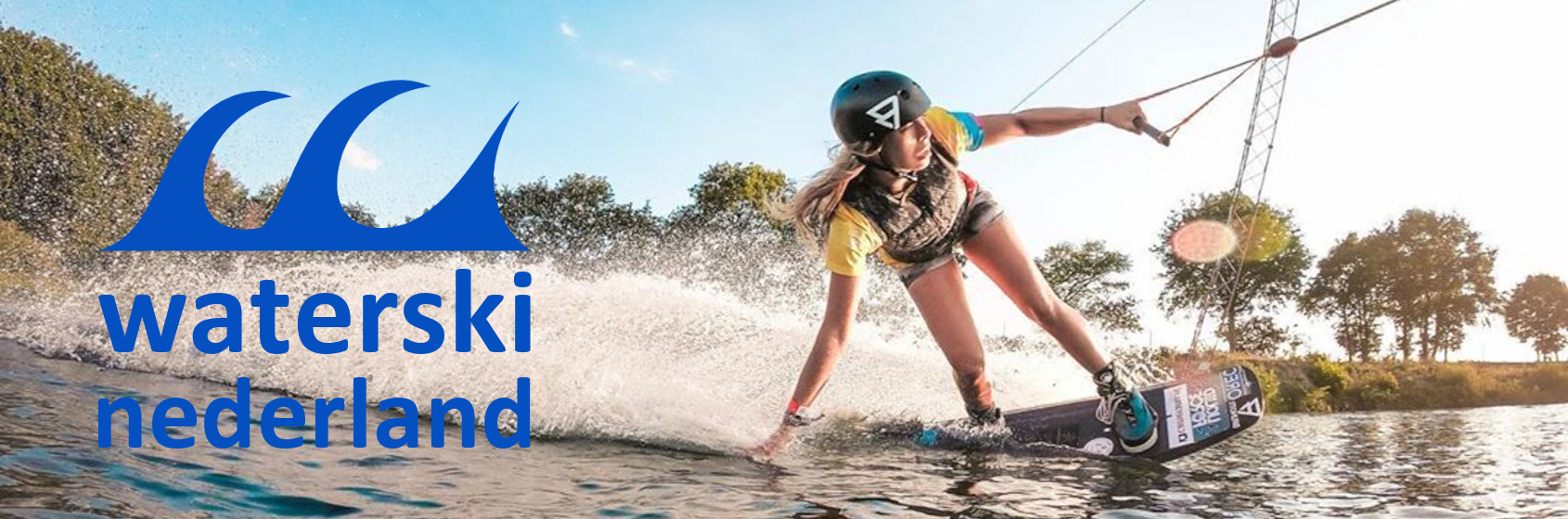 Cable wakeboard met Sanne Meijer - Waterski Nederland