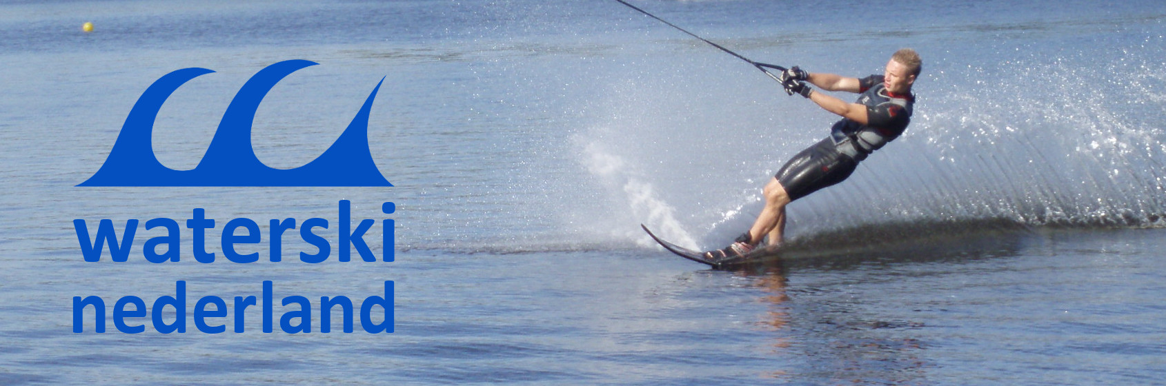 Cable waterski met Michael Erends - Waterski Nederland